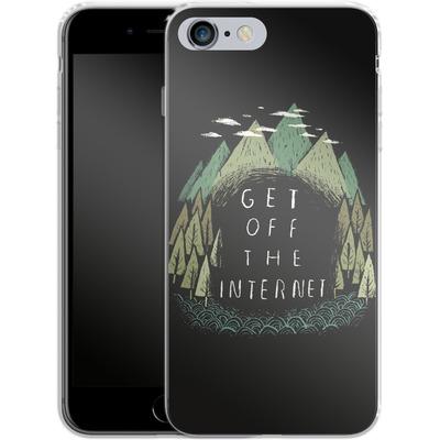 Apple iPhone 6s Plus Silikon Handyhuelle - Get Off The Internet von Louis Ros