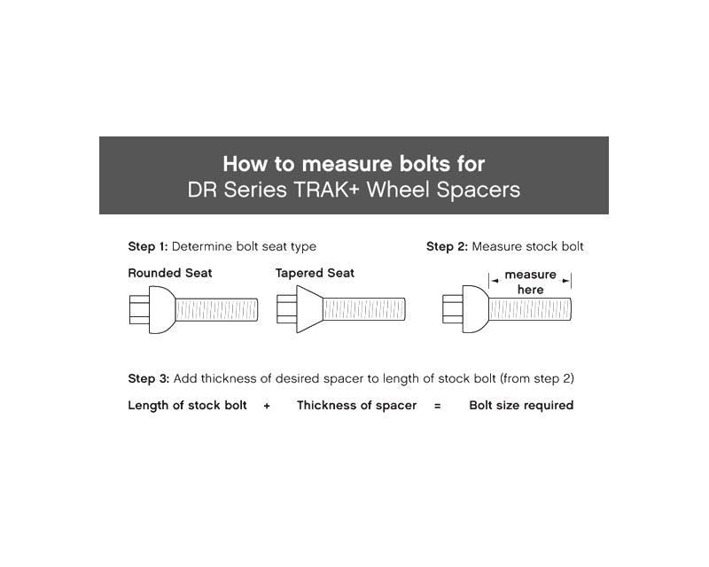H&R 645650 Trak+ | 5/110 | 65 | Bolt | 12x1.5 | 3mm | DR Wheel Spacer Saab 41522 99-02