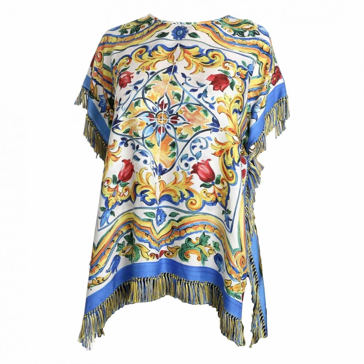 Dolce & Gabbana \N Multicolour Silk  top for Women 40 IT