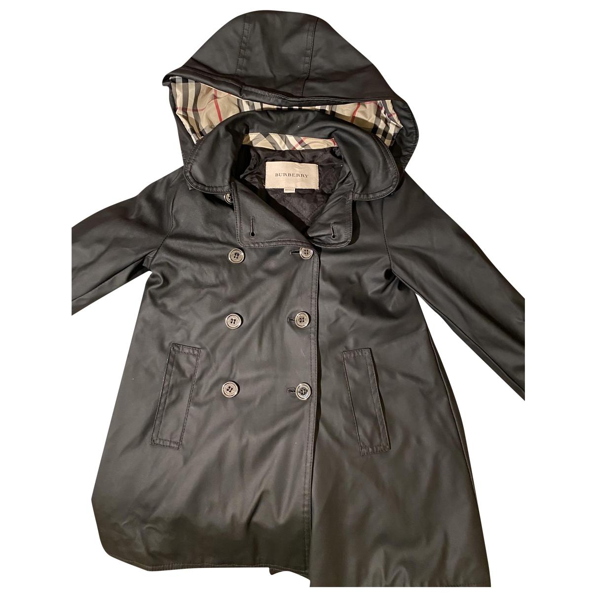 Burberry - Blousons.Manteaux   pour enfant - bleu
