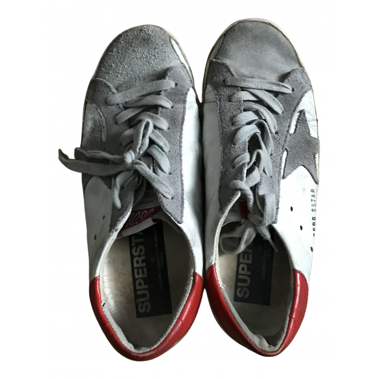 Golden Goose N Multicolour Leather Trainers for Women 37 EU