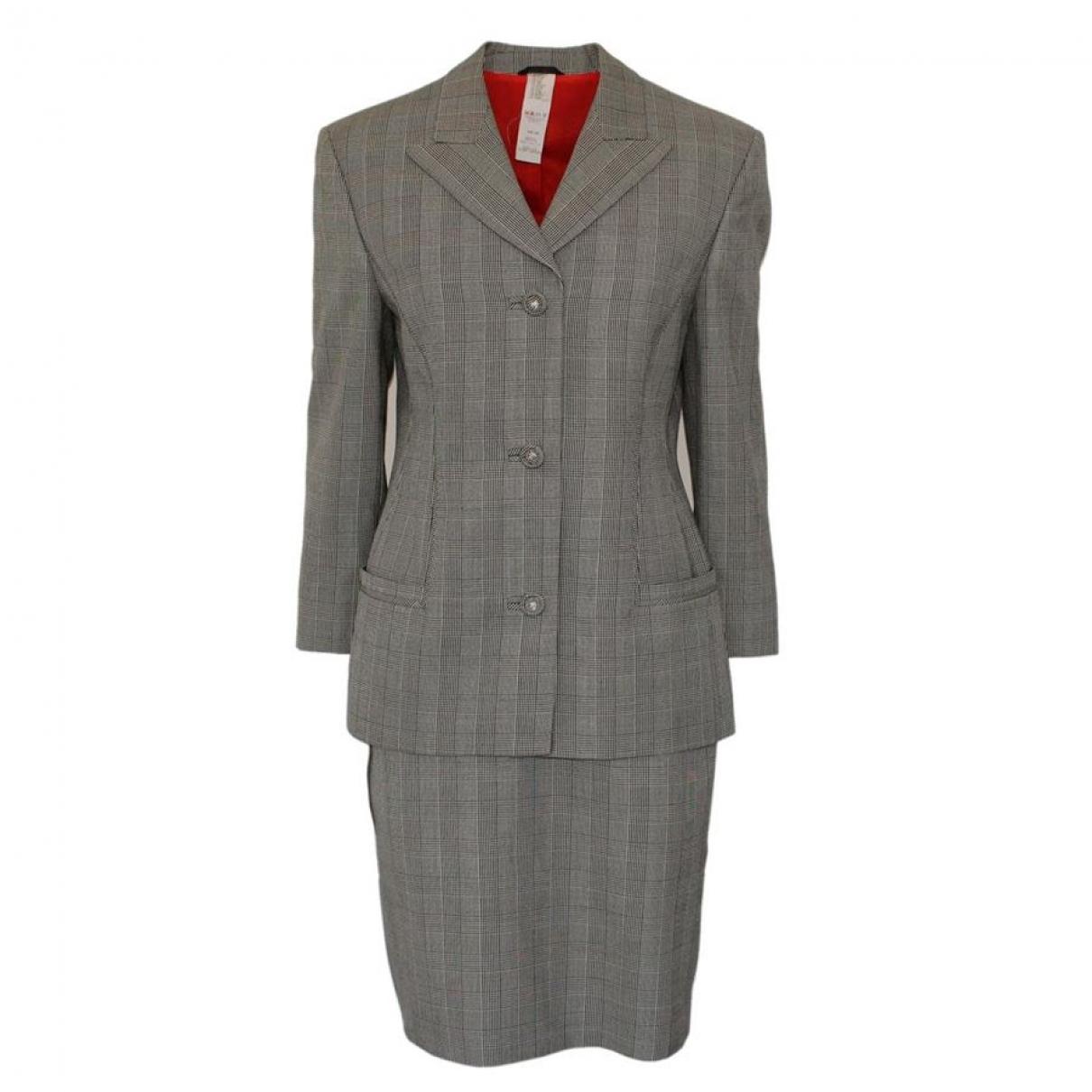 Gianni Versace - Jupe   pour femme en laine - gris
