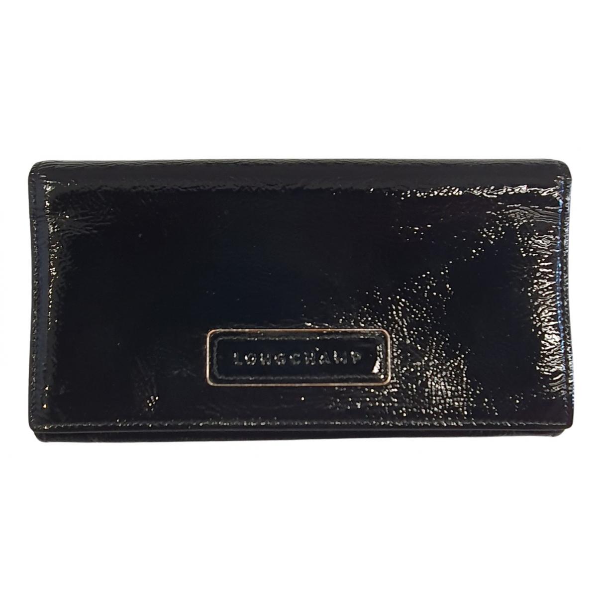 Longchamp N Black Patent leather Purses, wallet & cases for Women N
