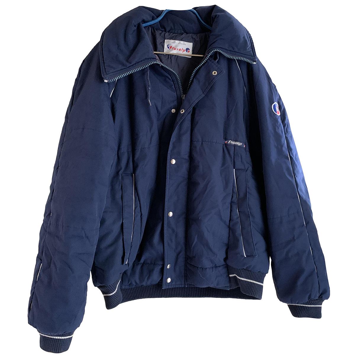 Fusalp N Blue Cotton coat  for Men XXL International
