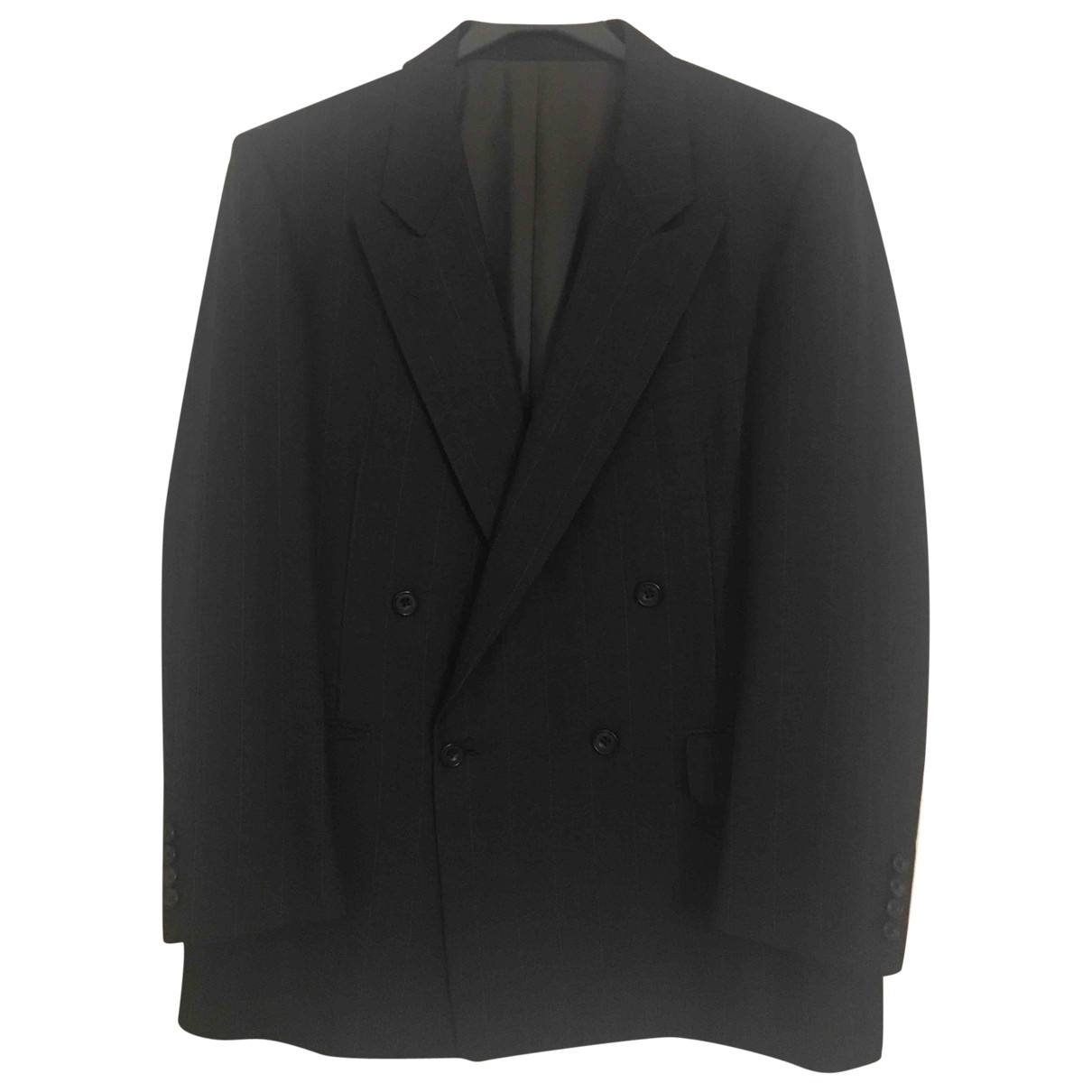 Burberry \N Anthracite Wool jacket  for Men 50 IT