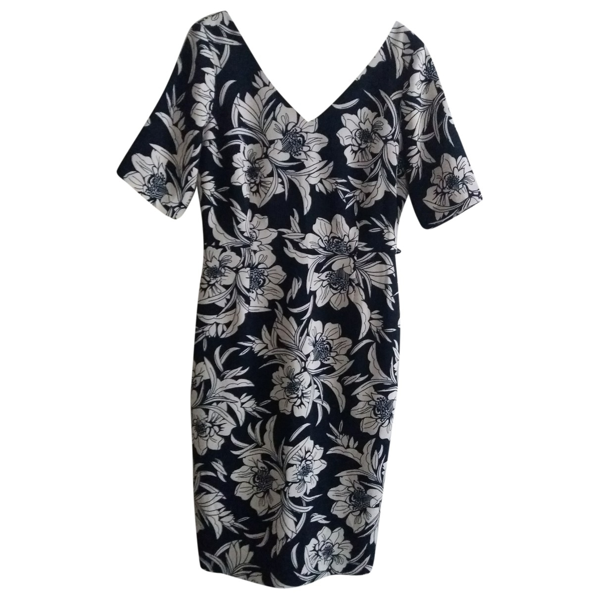 Non Signé / Unsigned \N Navy dress for Women 38 FR