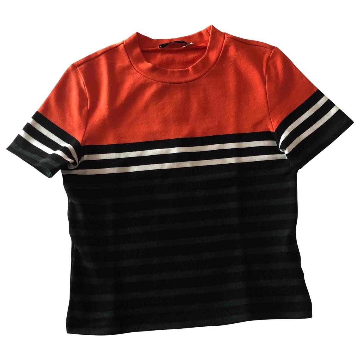 T By Alexander Wang - Top   pour femme en coton - orange