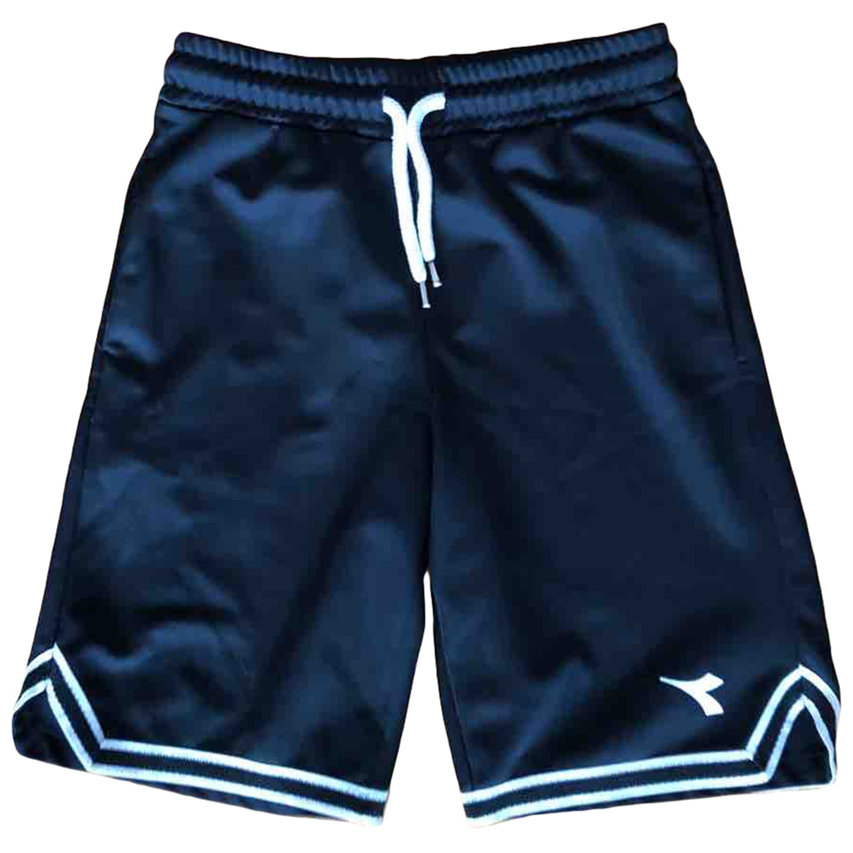 Diadora \N Shorts in  Schwarz Polyester