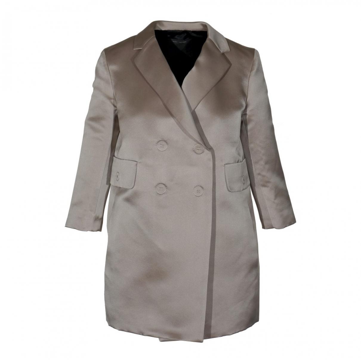 Marc Jacobs - Veste   pour femme en soie - gris
