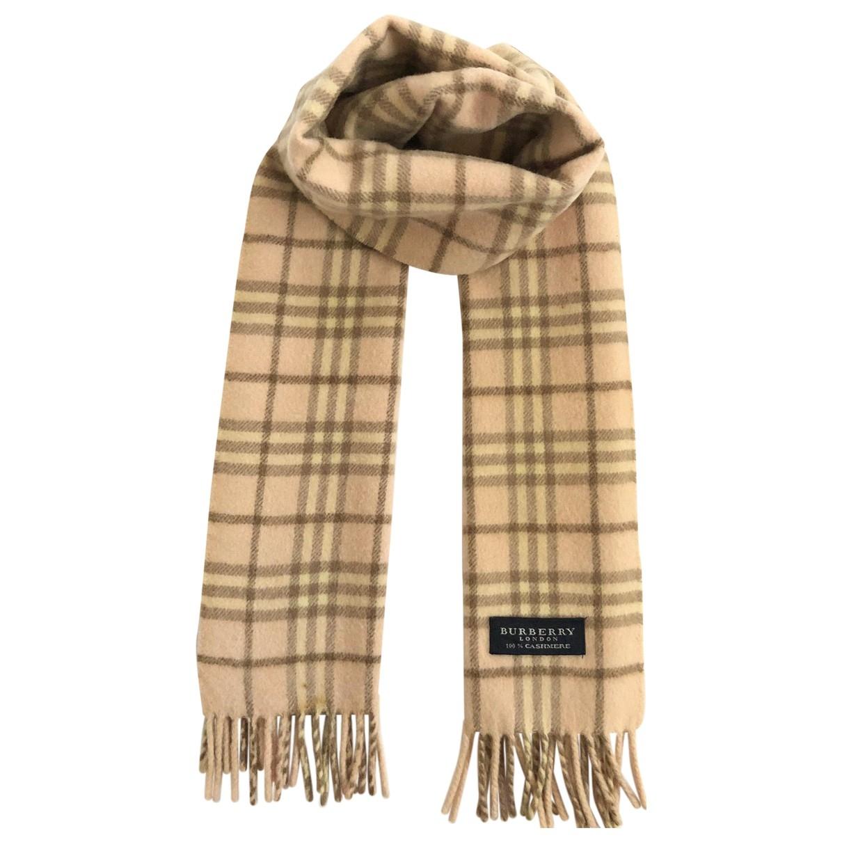 Burberry \N Blue Wool scarf for Women \N