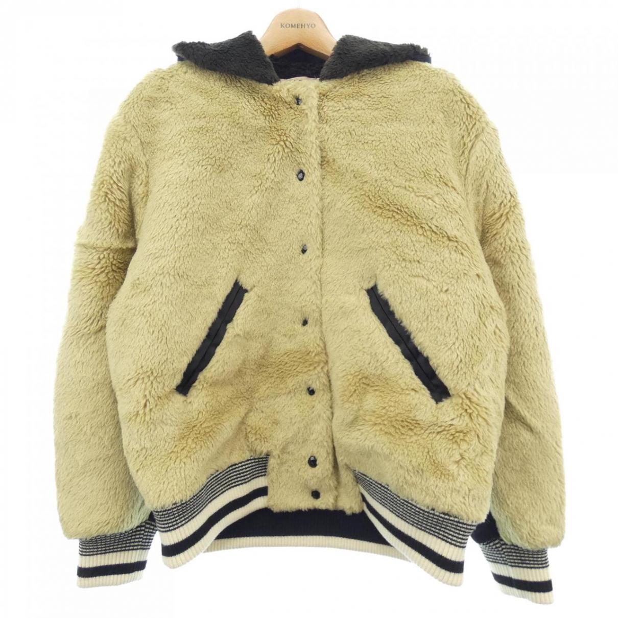 N°21 - Veste   pour femme en laine - beige