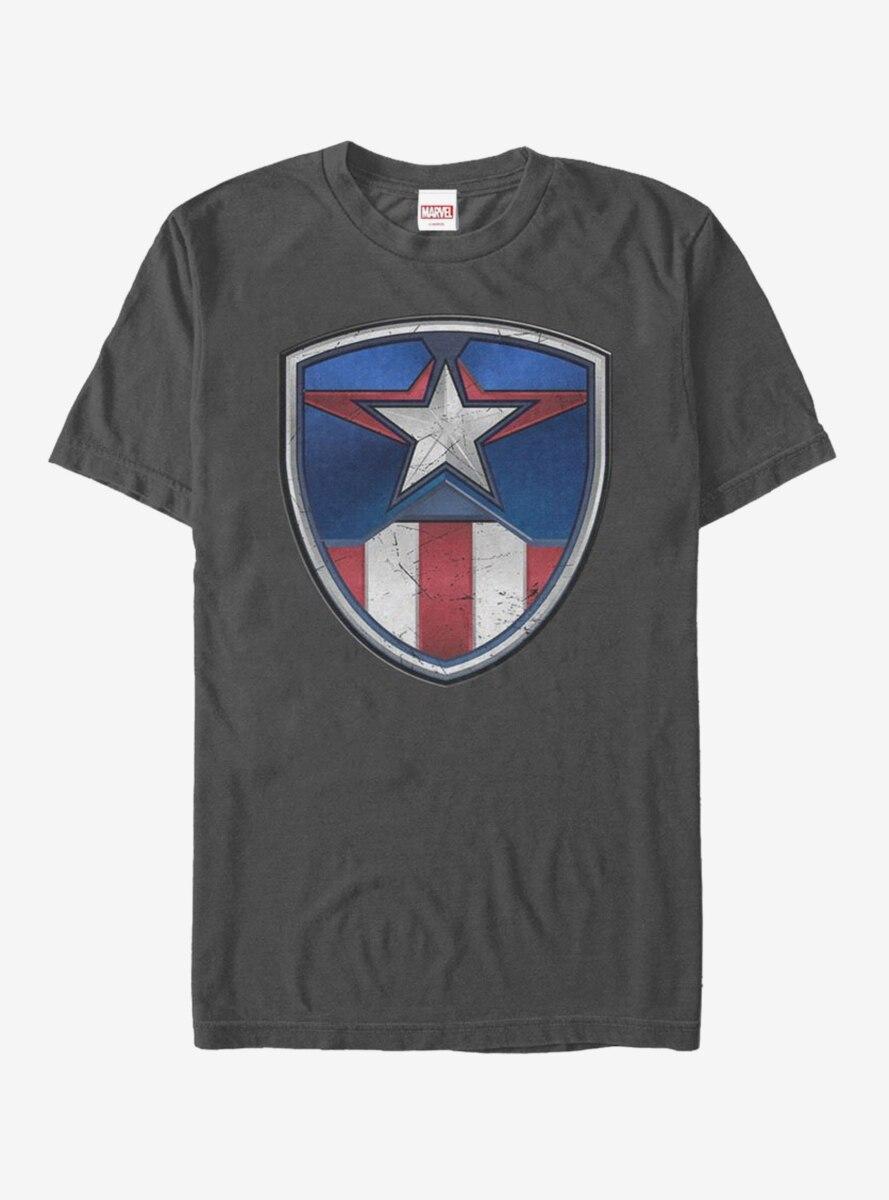 Marvel Captain America Armor Suit T-Shirt