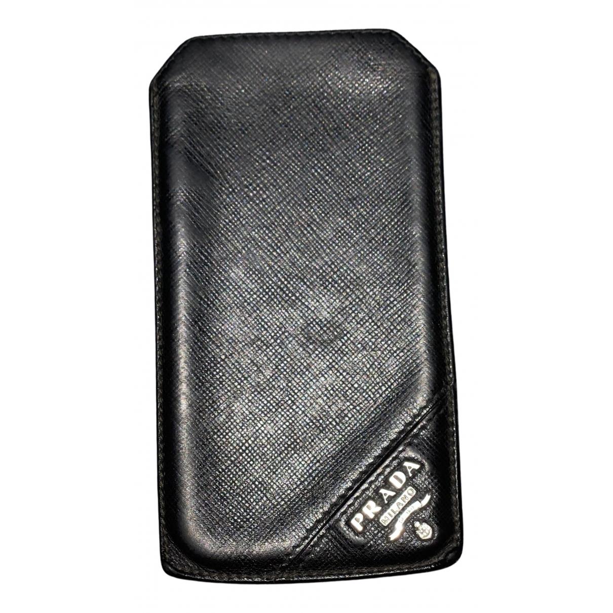 Prada - Accessoires   pour lifestyle en cuir - noir