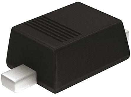 ROHM , 4.3V Zener Diode 200 mW SMT 2-Pin SOD-323F (200)