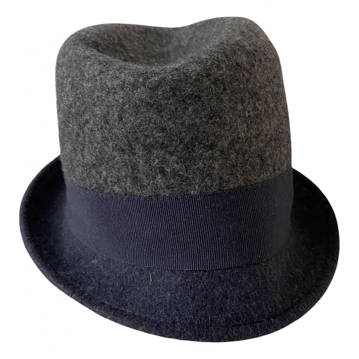 Falconeri N Grey Wool hat for Women 59 cm