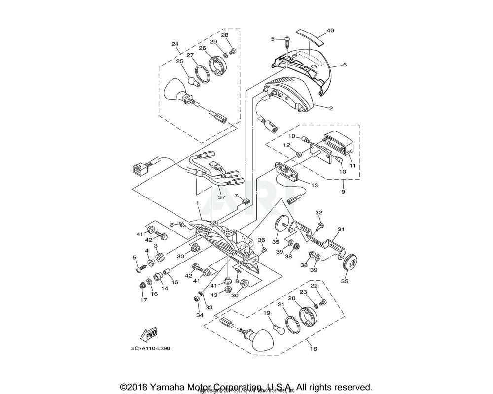 Yamaha OEM 5PX-84557-00-00 COLLAR