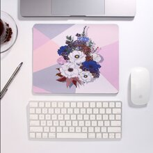 1pc Flower Pattern Mouse Pad