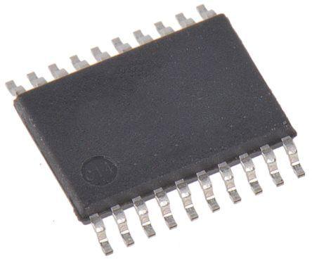 Maxim Integrated MAX13235EEUP+, Line Transceiver, RS-232 2 (RS-232)-TX 2 (RS-232)-RX, 3 → 5.5 V, 20-Pin TSSOP (74)