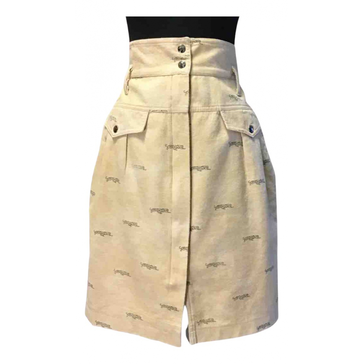 Krizia N Beige Cotton skirt for Women L International