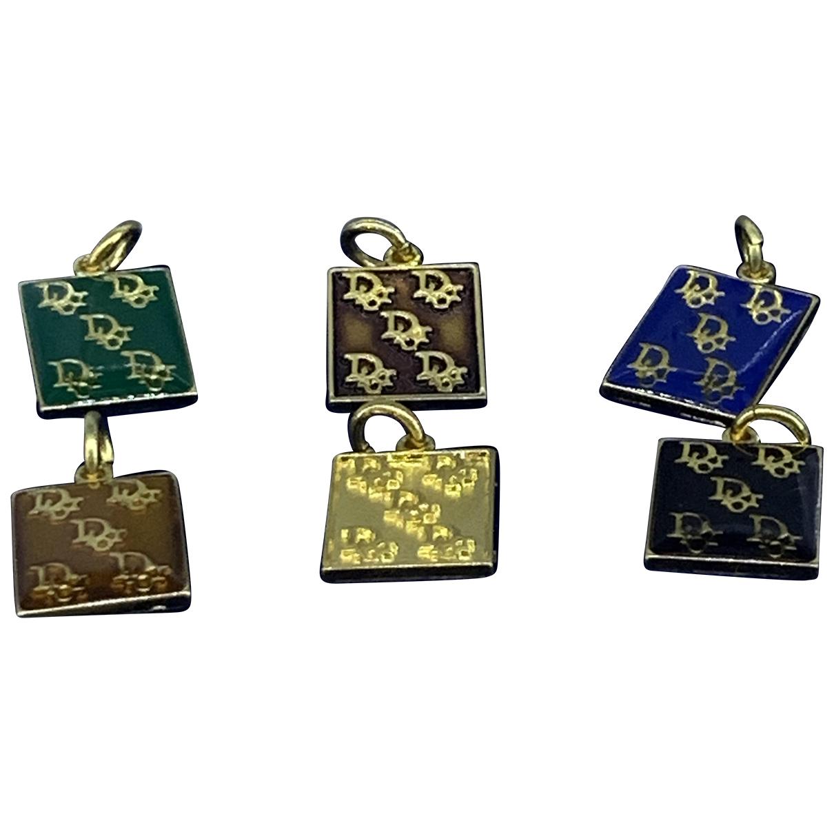 Dior - Pendentif Monogramme pour femme en or jaune