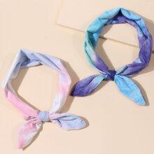2pcs Bow Design Headband