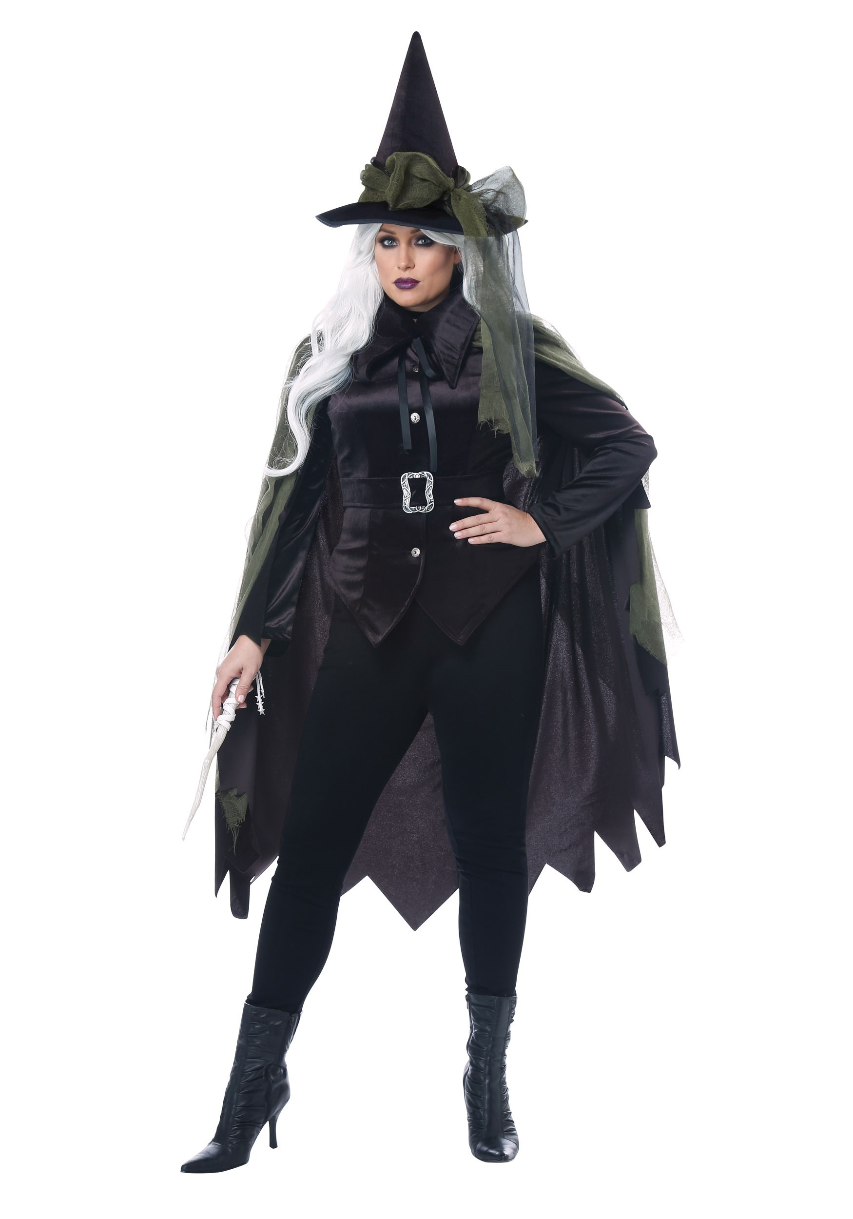 Plus Size Women's Gothic Witch Costume