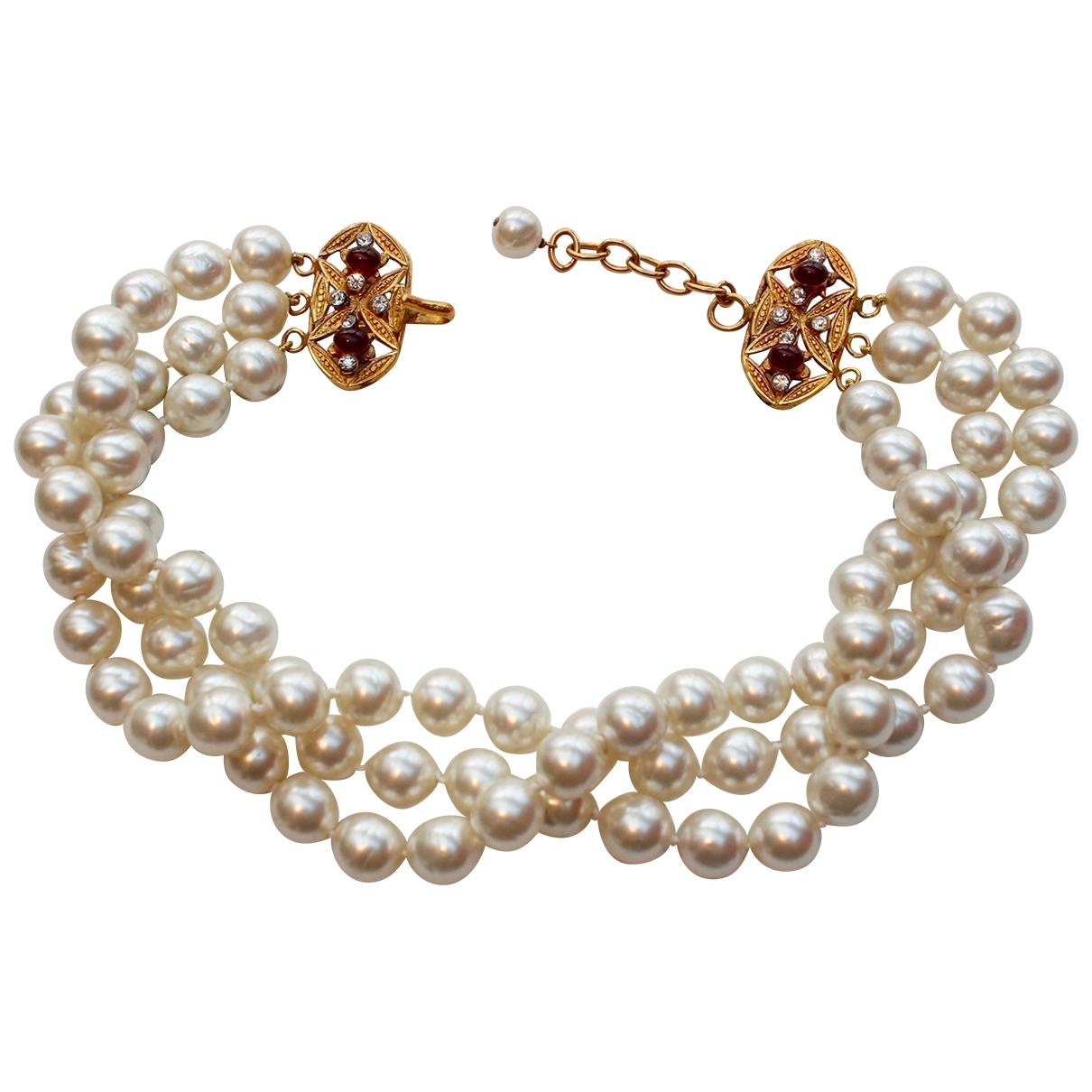 Chanel Baroque Kette in Perlen