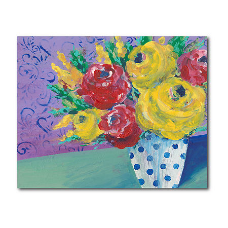 Courtside Market Fearless Floral Canvas Art, One Size , Multiple Colors