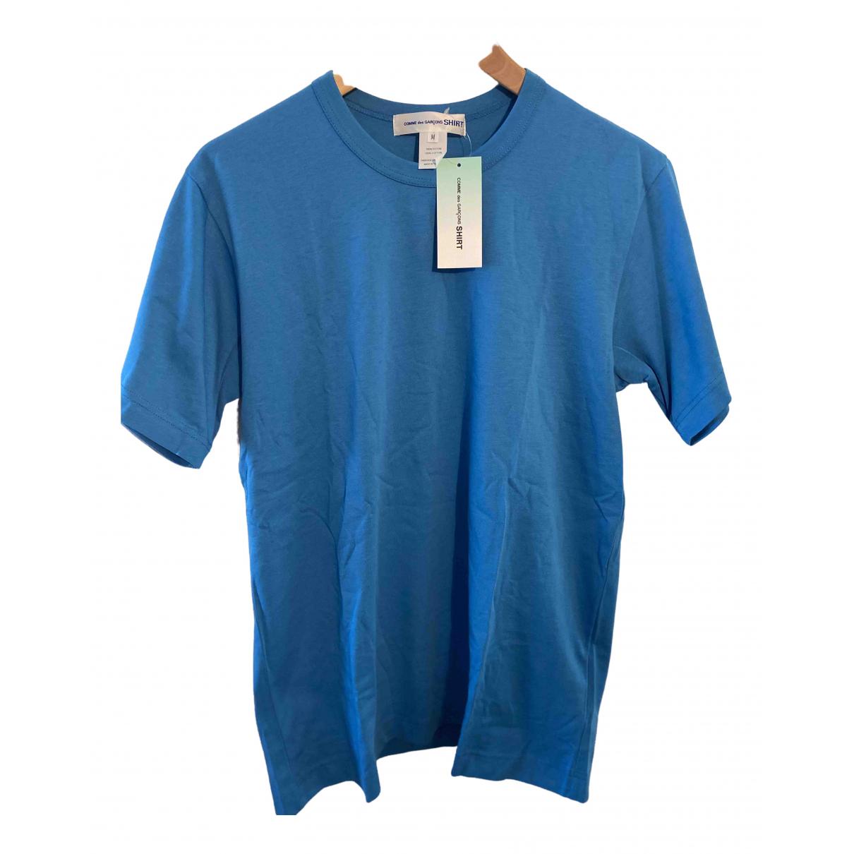 Comme Des Garcons \N T-Shirts in  Blau Baumwolle