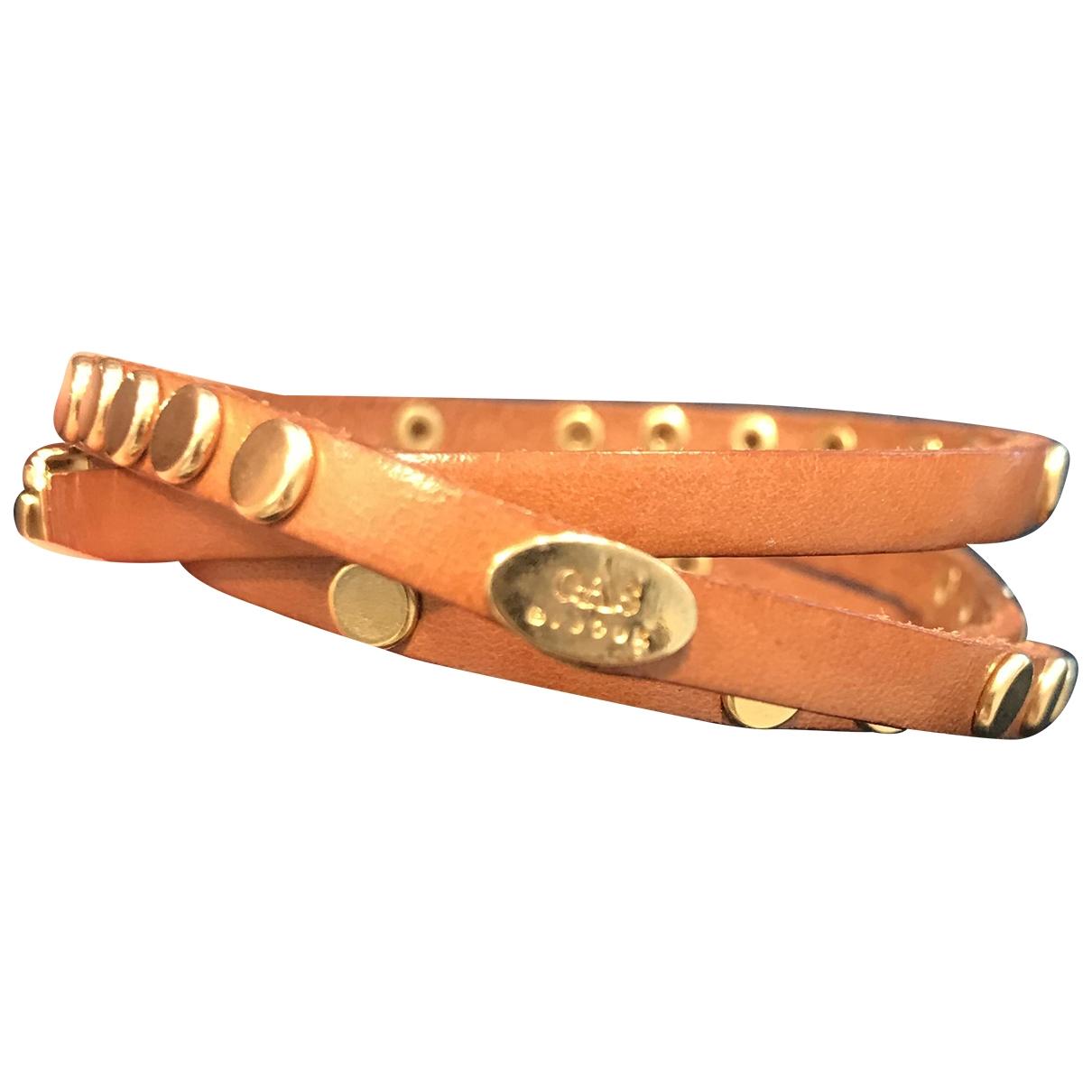 Gas \N Armband in Leder