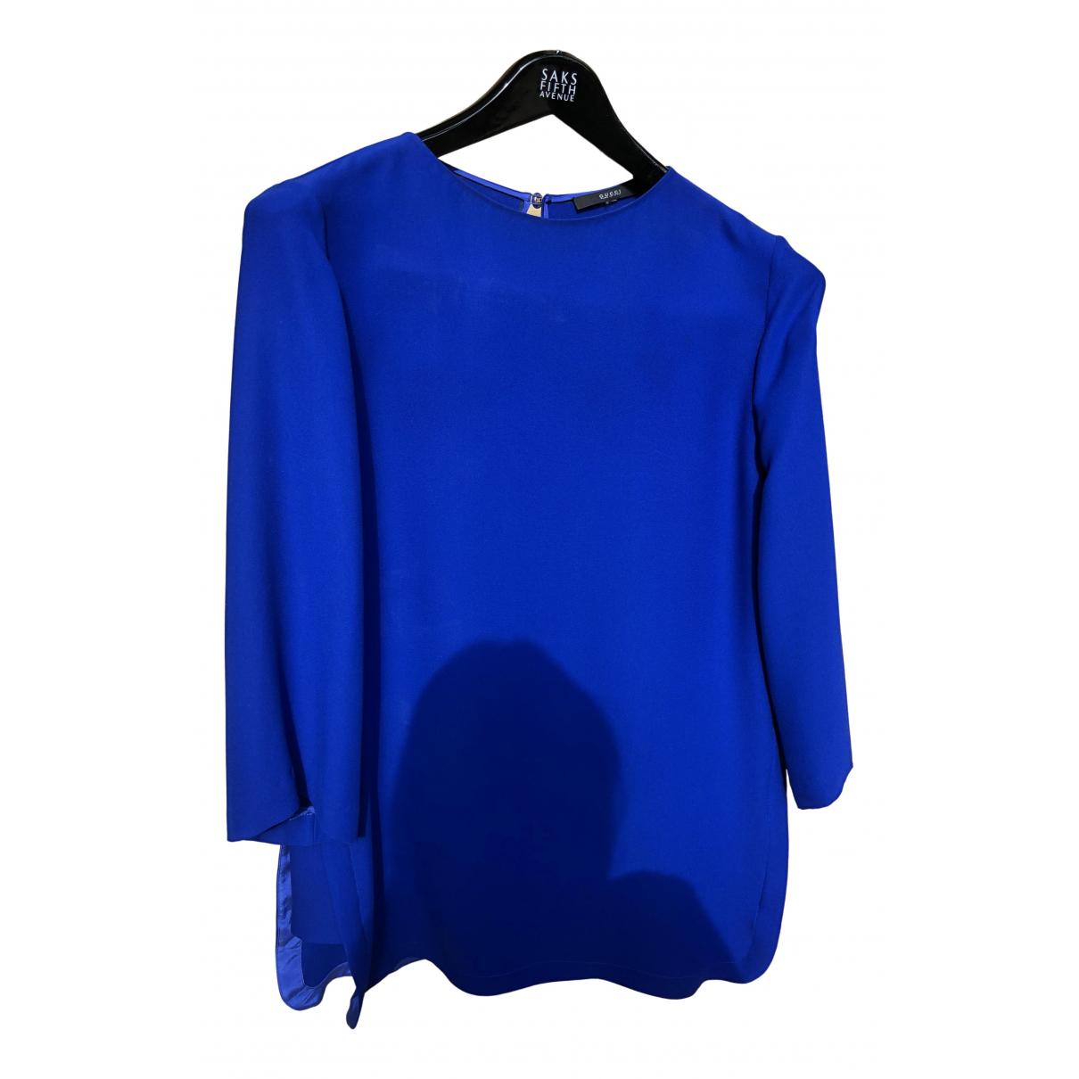 Gucci - Combinaison   pour femme en soie - bleu