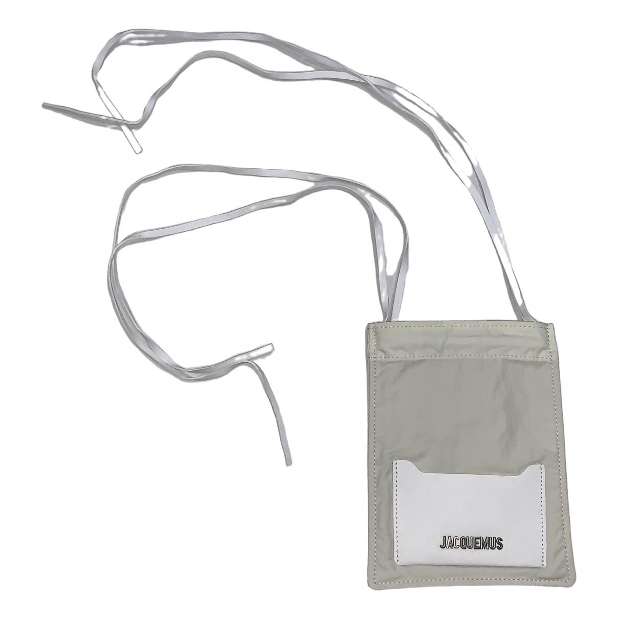 Jacquemus Le Minot Ecru Cloth Small bag, wallet & cases for Men N