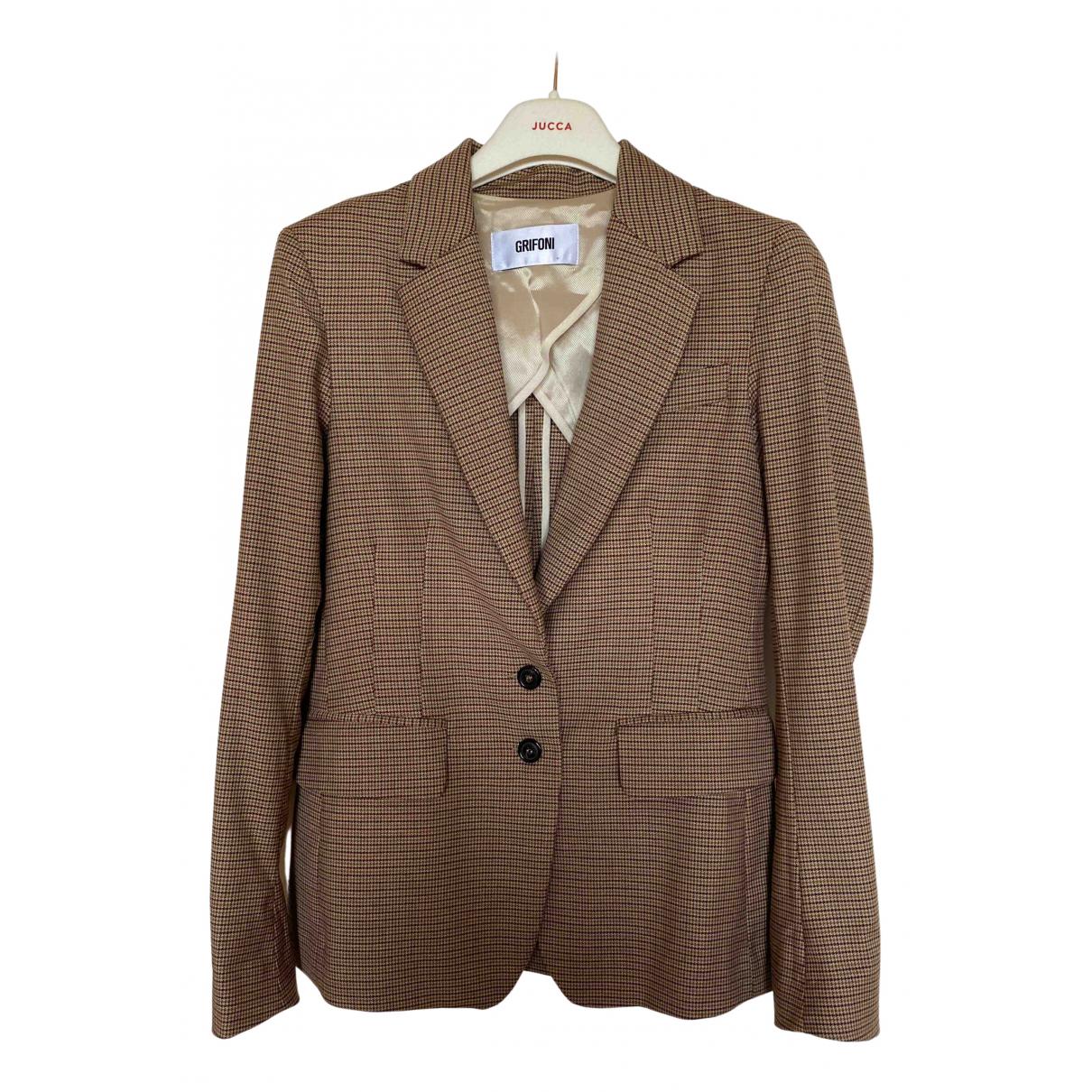 Mauro Grifoni N Wool jacket for Women 40 IT