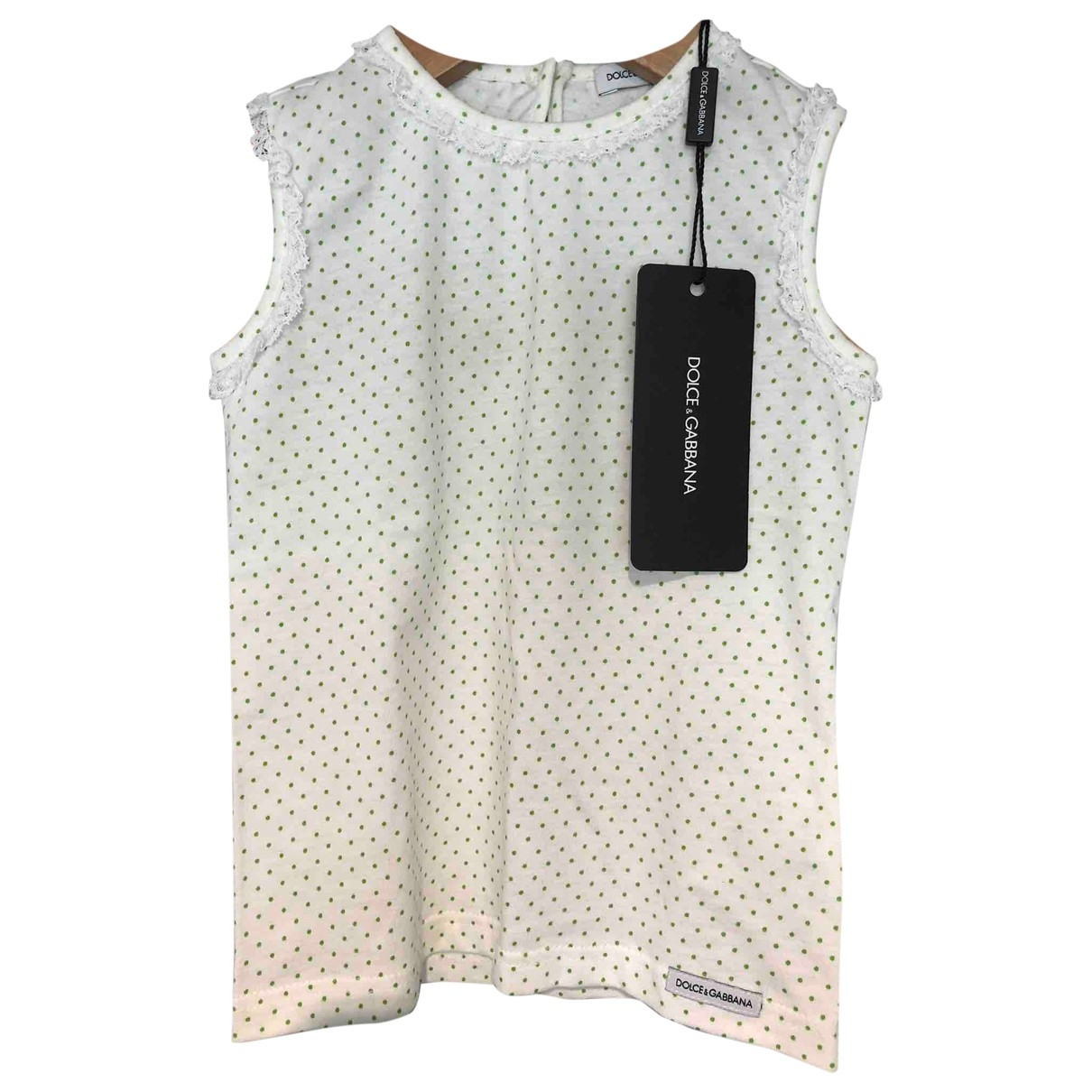 Dolce & Gabbana \N Beige Cotton  top for Kids 3 years - up to 98cm FR
