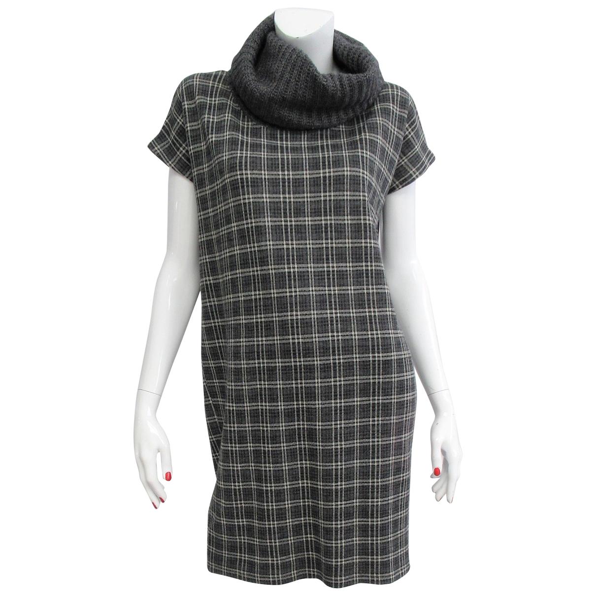 Max & Co - Robe   pour femme en laine - gris