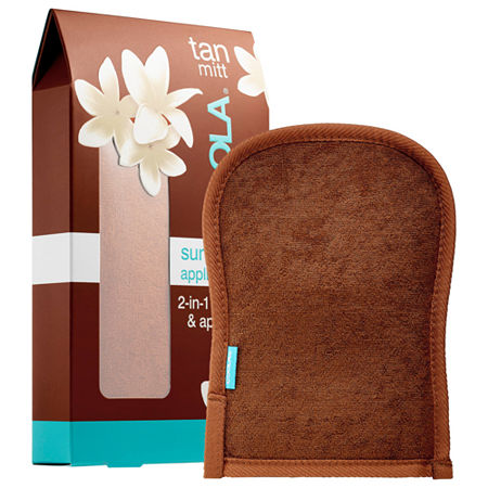 COOLA Sunless Tan 2-in-1 Exfoliator & Applicator Mitt, One Size , Multiple Colors