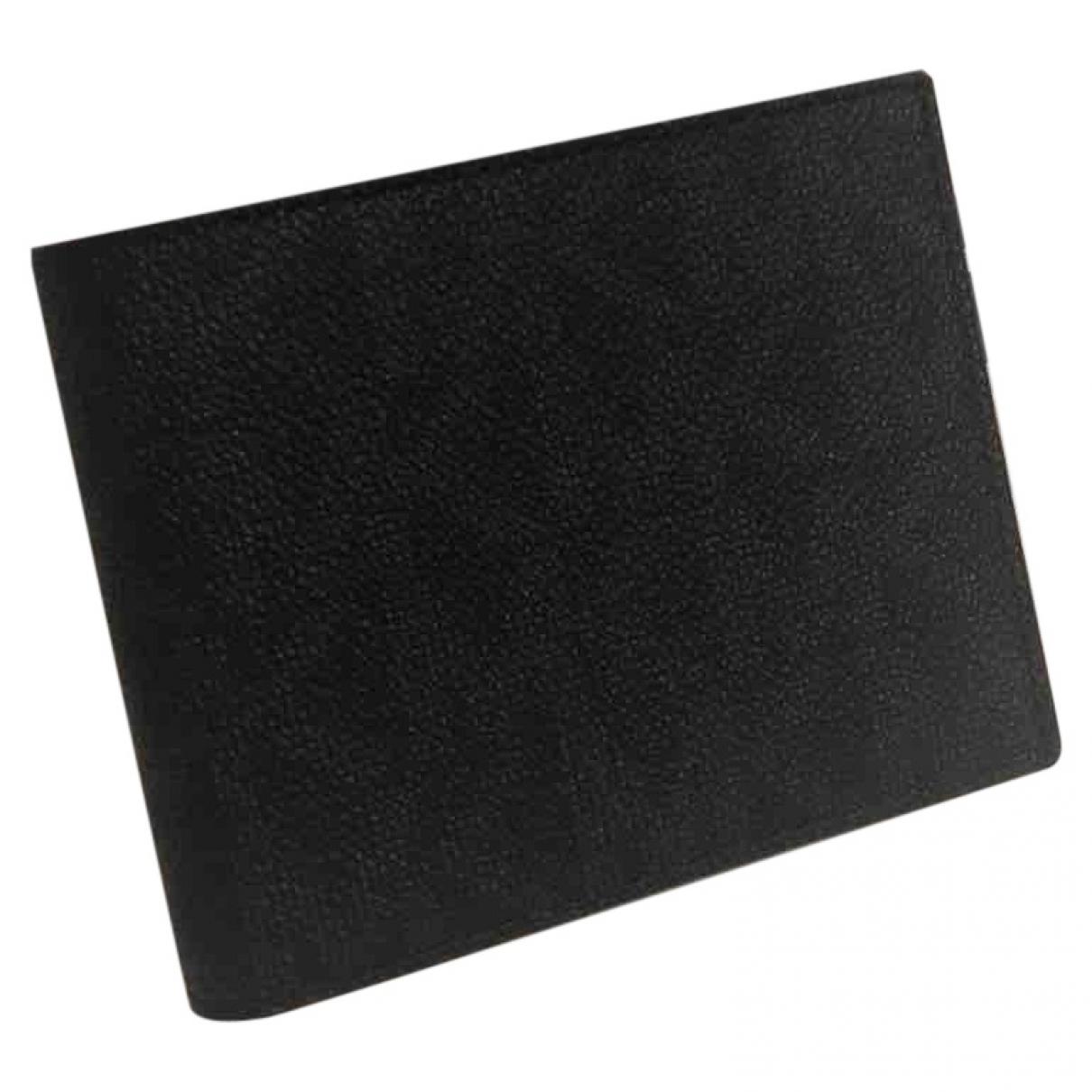 Michael Kors - Petite maroquinerie   pour homme en cuir - noir