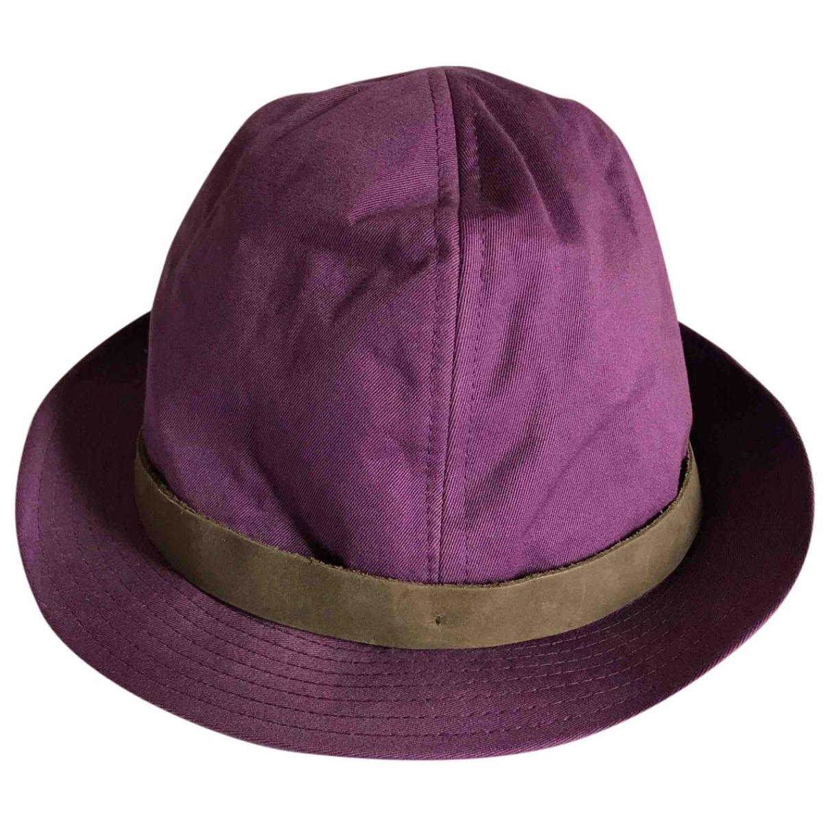 Paul Smith - Chapeau   pour femme en coton - violet