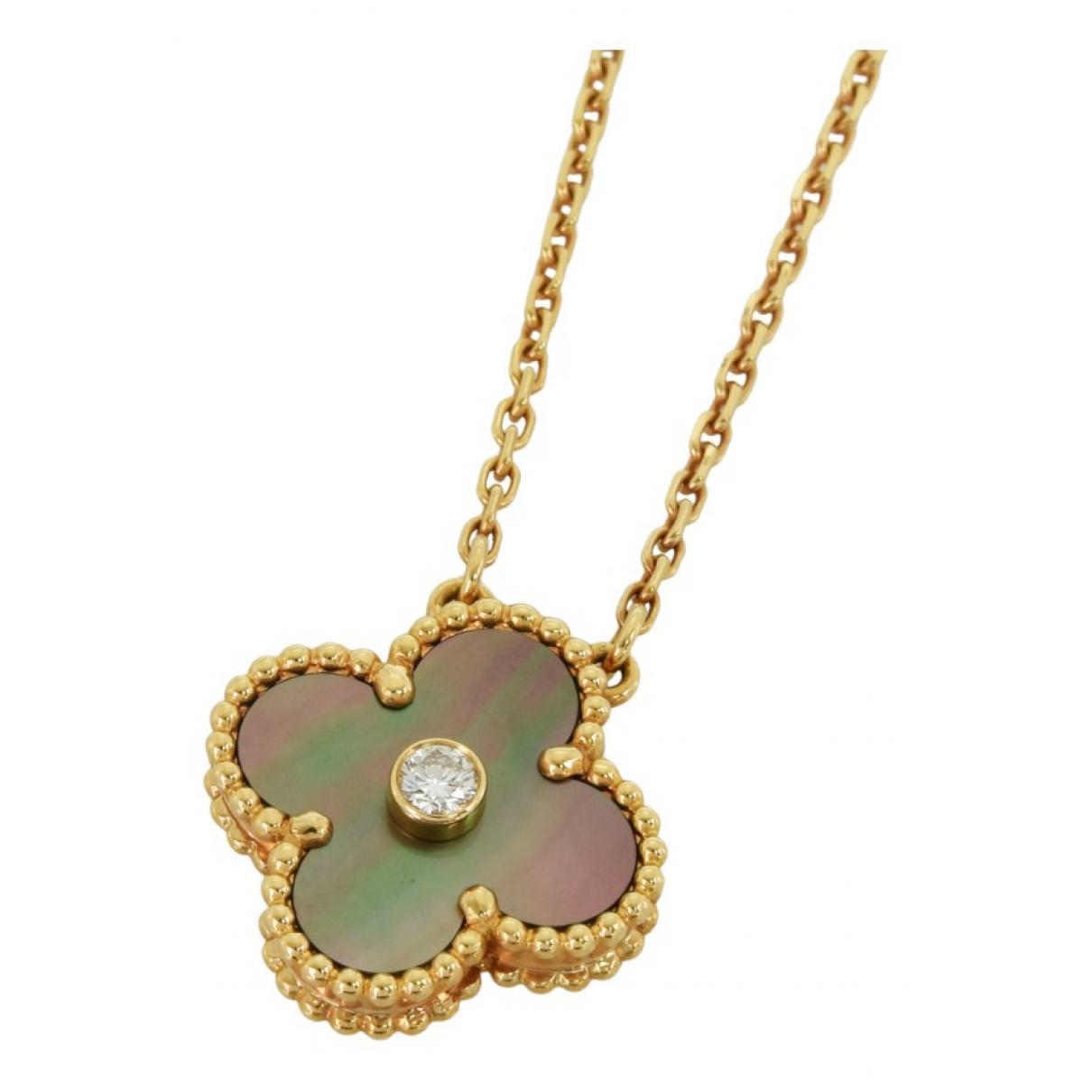 Van Cleef & Arpels Vintage Alhambra Gold Pink gold necklace for Women \N