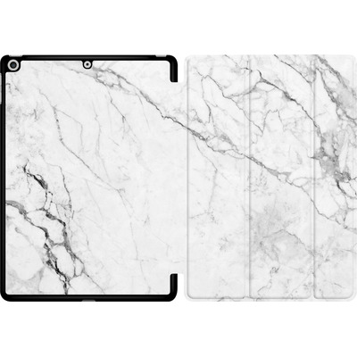 Apple iPad 9.7 (2018) Tablet Smart Case - White Marble von caseable Designs