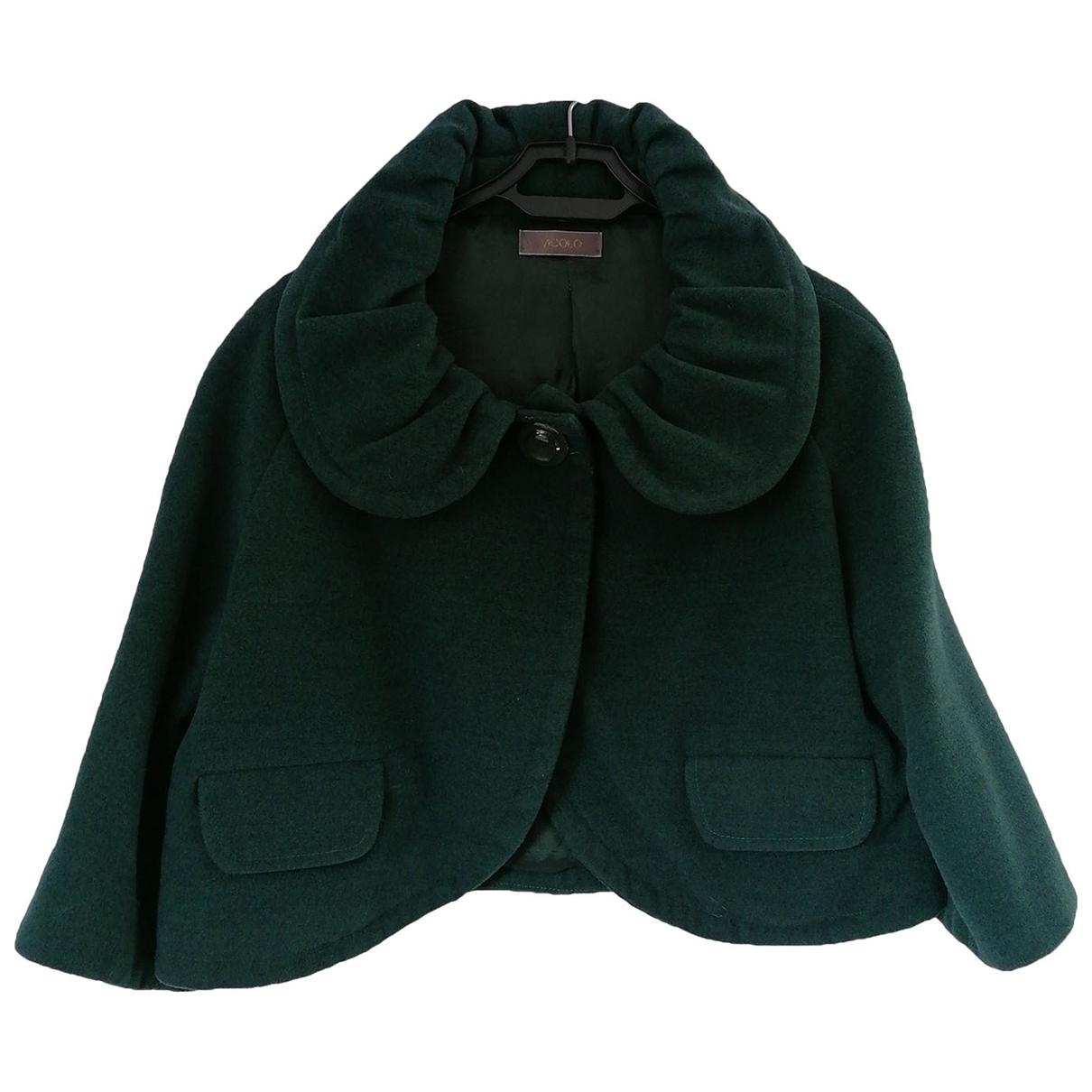 Vicolo \N Jacke in  Gruen Polyester