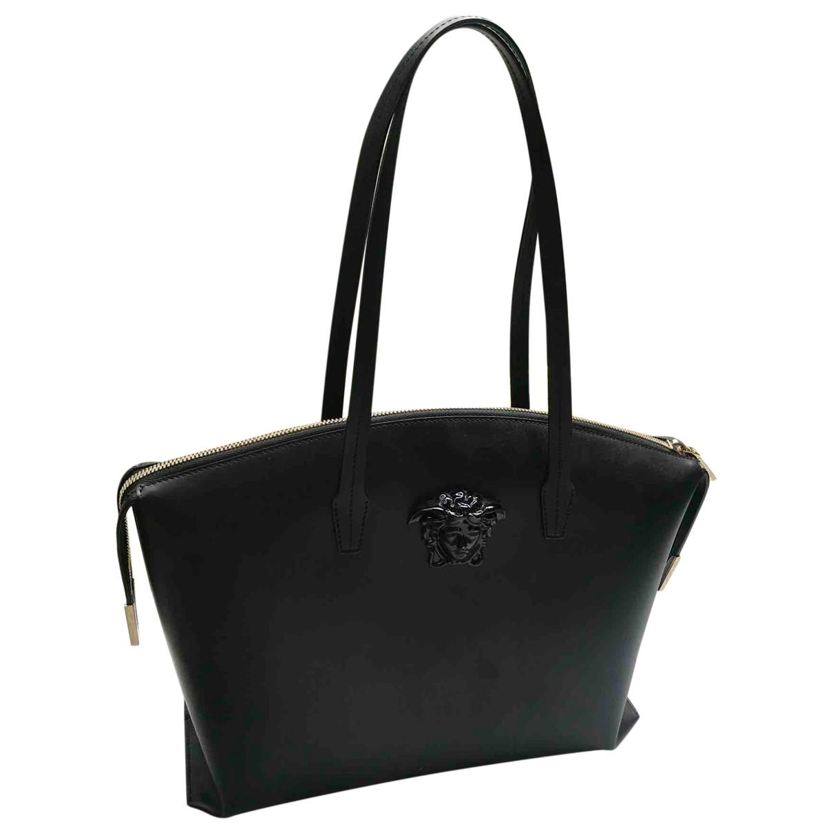 Versace Icon Black Leather handbag for Women \N