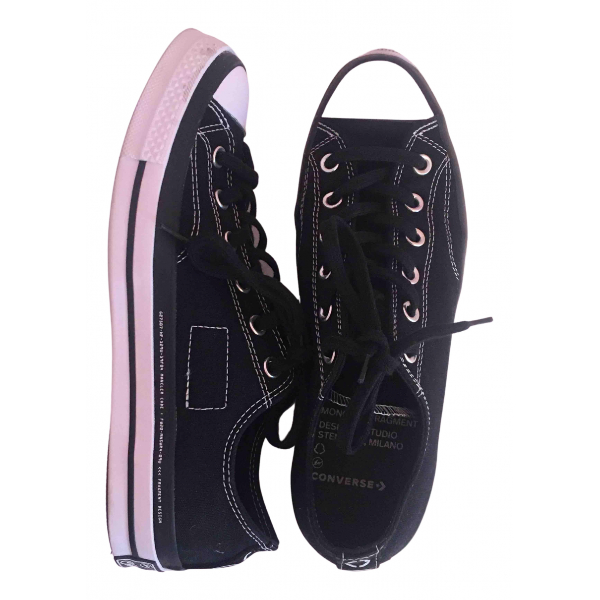 Converse N Black Cloth Trainers for Women 41.5 EU