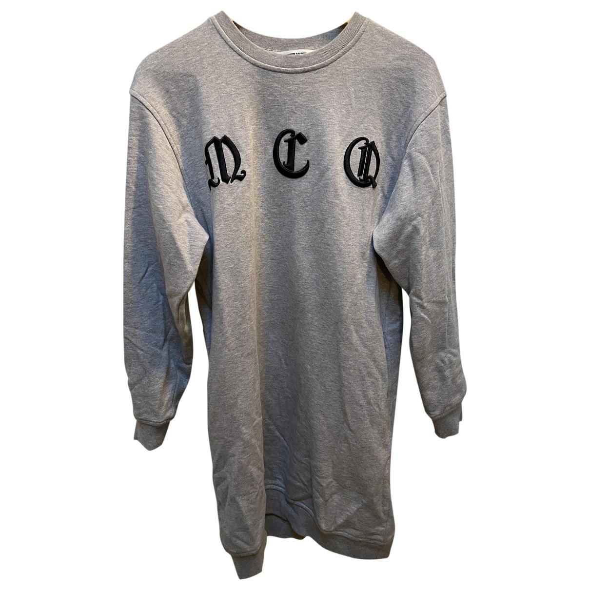 Mcq - Robe   pour femme en coton - gris