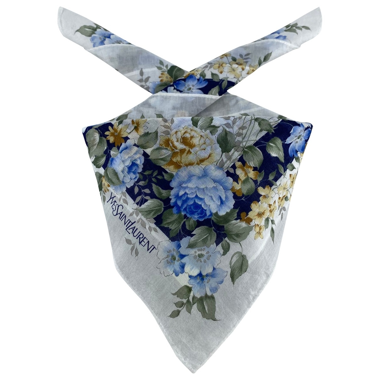Yves Saint Laurent - Foulard   pour femme en coton