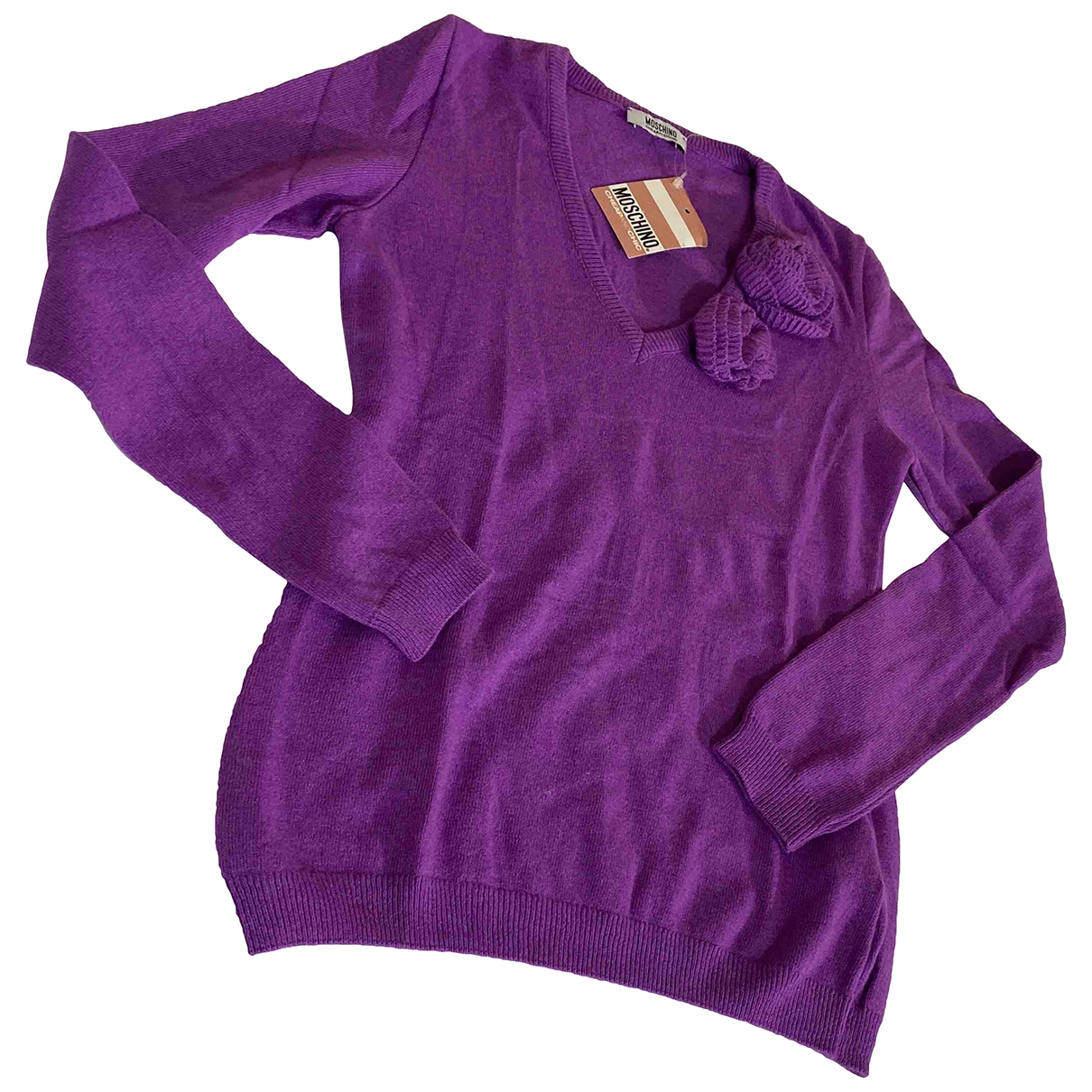 Moschino Cheap And Chic \N Purple Knitwear for Women 40 IT