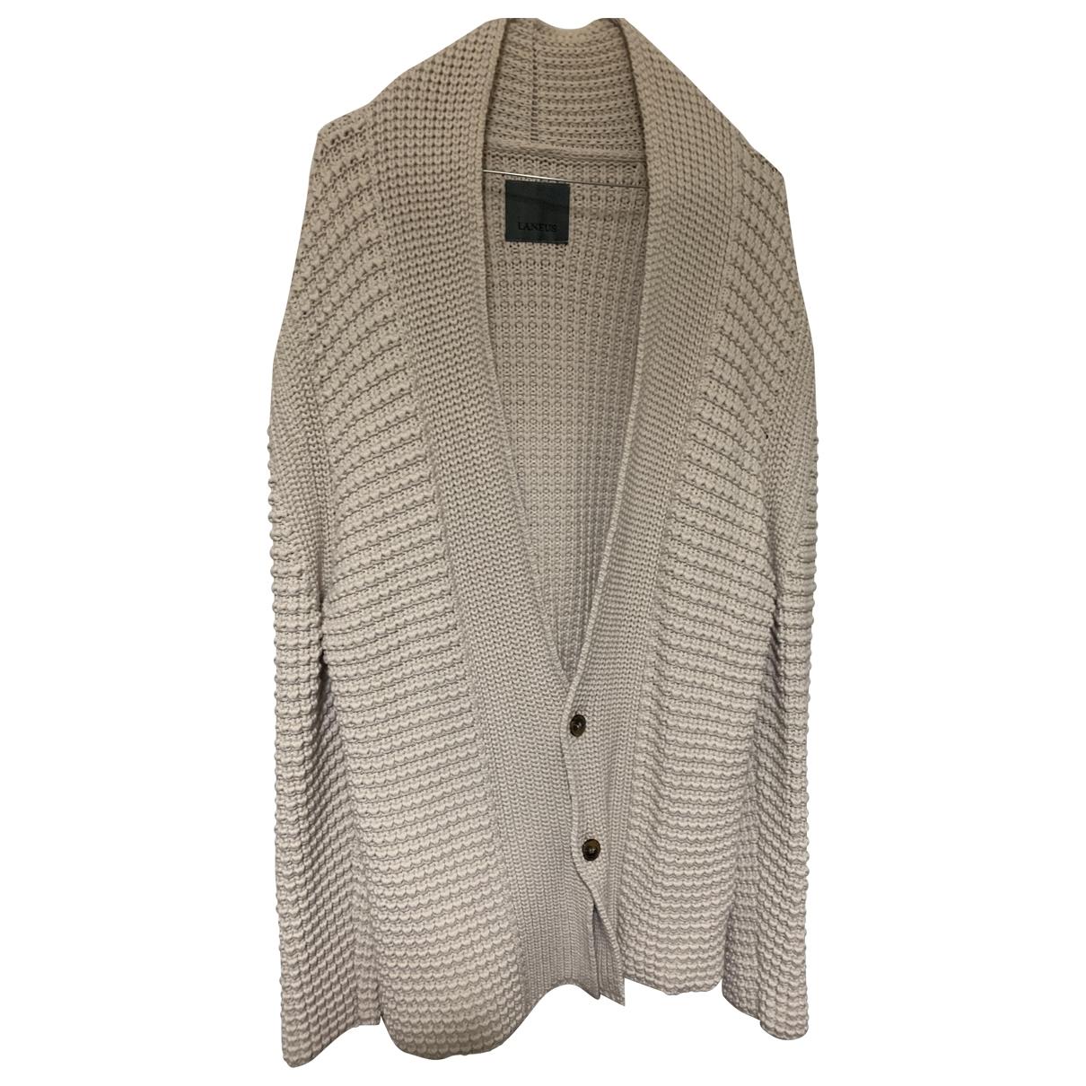 Laneus \N Pullover.Westen.Sweatshirts  in  Beige Baumwolle