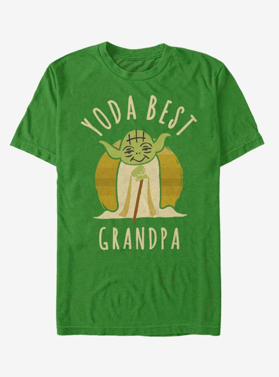 Star Wars Best Grandpa Yoda Says T-Shirt