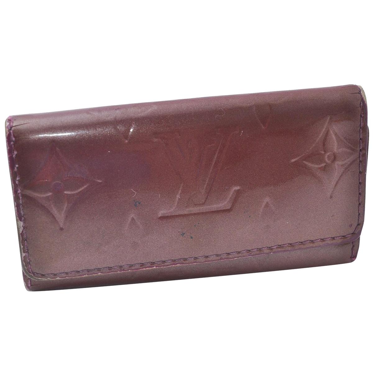 Louis Vuitton N Purple Patent leather handbag for Women N