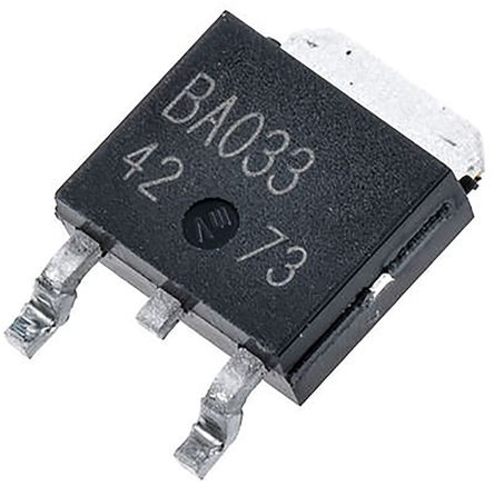ROHM 2SAR586DGTL PNP Transistor, 5 A, 80 V, 3+Tab-Pin DPAK (10)